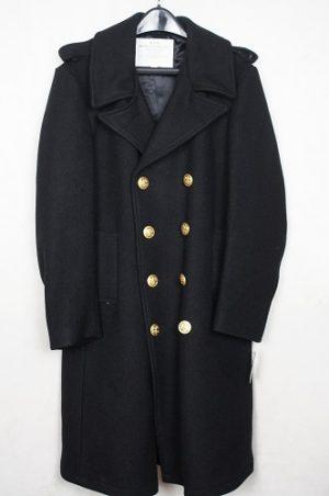 Government Issued U.S.N. Long Wool Bridge Coat