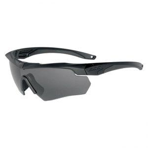 GI ESS Crossbow Safety Glasses, Smoke Grey Lens, Slightly Used Frame W/Hard Case