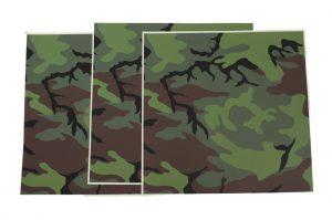GI US Air Force Flight Helmet Camouflage Adhesive Film KMU-440/P For HGU