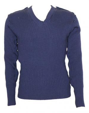 GI Woolly Pully V-Neck Commando Sweater