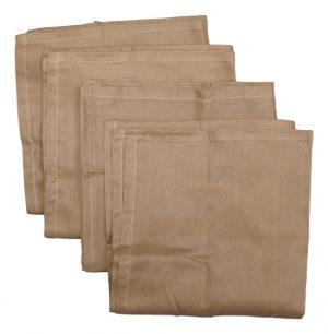 Military Brown Cotton Neckerchiefs