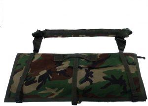 GI Woodland Camo Machine Gun Barrel Case